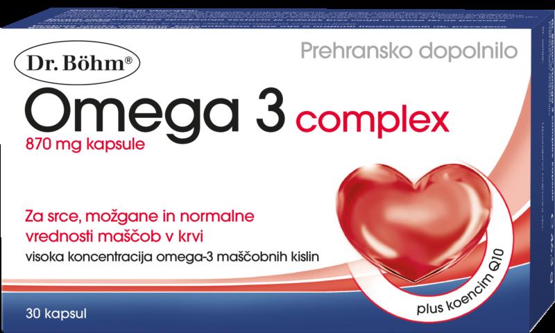 Dr. Böhm® Omega 3 complex capsule